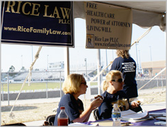 Rice Law at New Hanover County Relay for Life