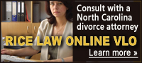 Consult with a NC divorce attorney in our Virtual Law Office (VLO)